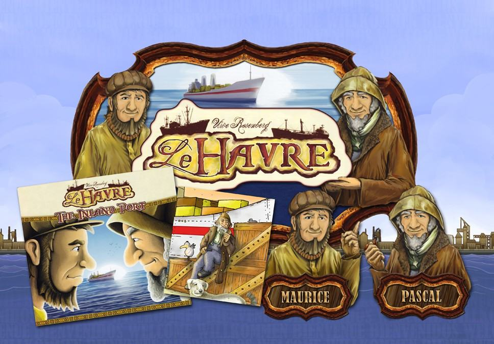 WIP – Le Havre – The Inland Port