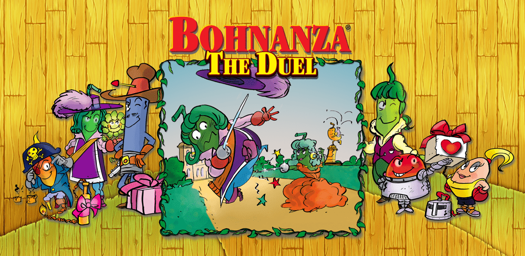 Title image Bohnanza The Duel App