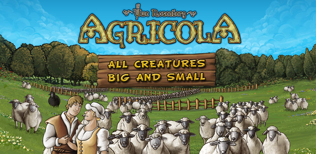 Agricola: all creatures big and small / 2 Player