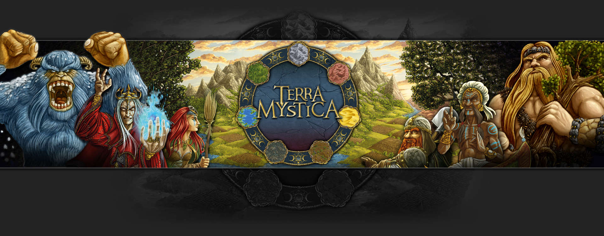 Header image of the board game Terra Mystica