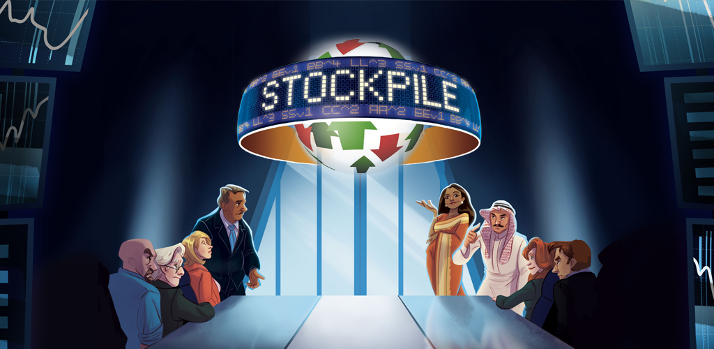 Stockpile (2-5 Player economic board game)