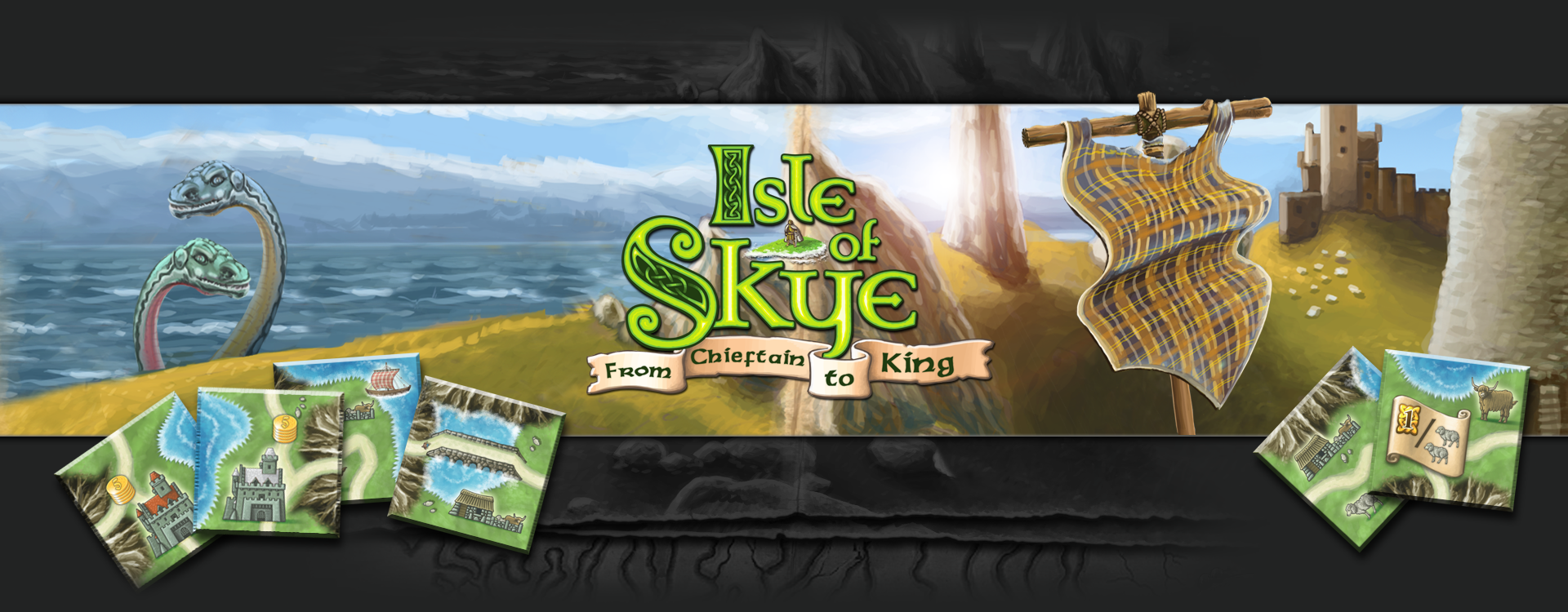 Isle of Skye header image (5 player family strategy game)