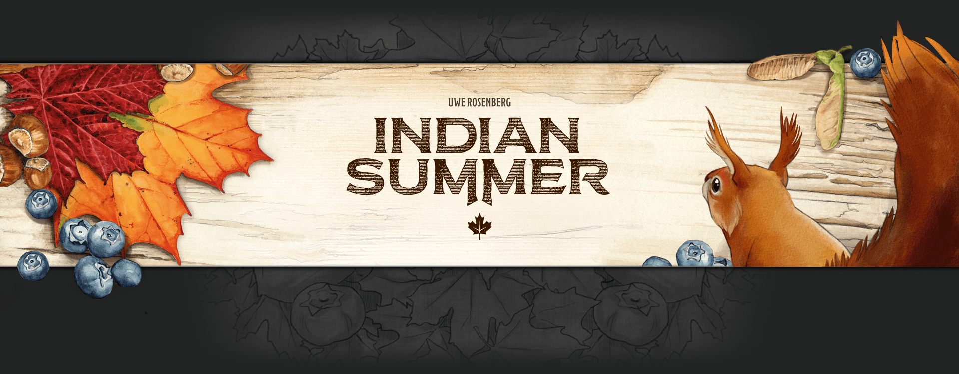 Indian Summer header image (4 player family puzzle game)
