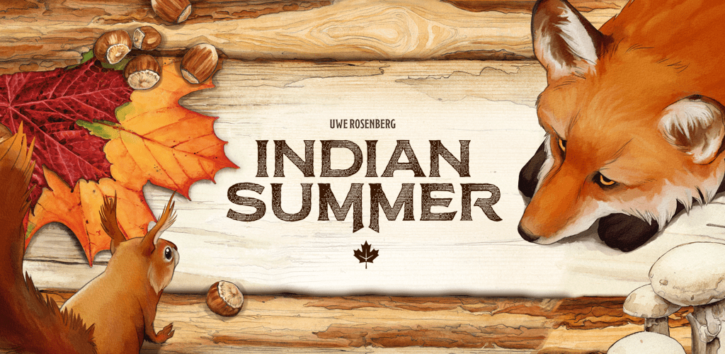 Indian Summer / part two of the Uwe Rosenberg trilogy