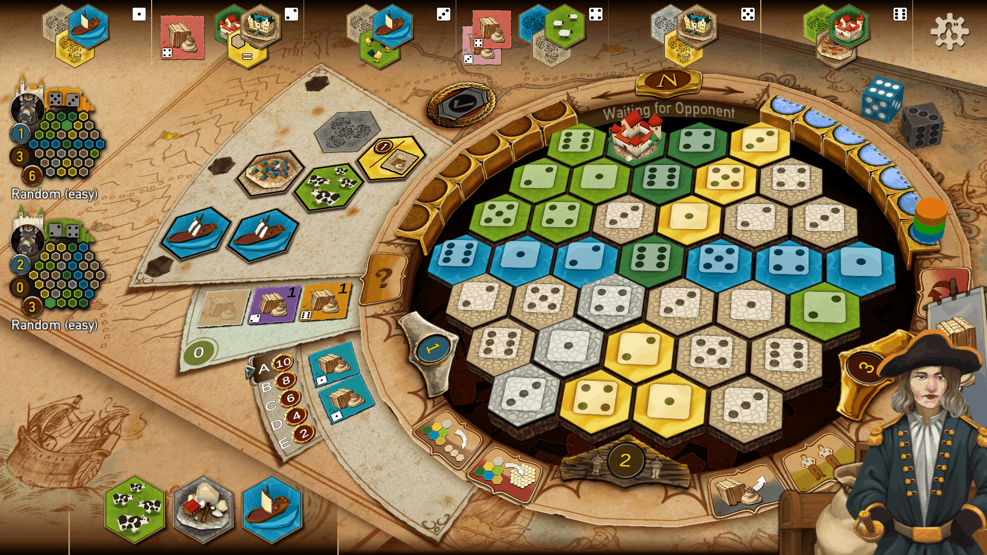 The Castles of Burgundy the App / Screenshot Mobile