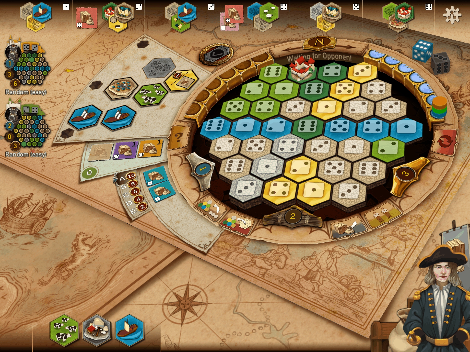 The Castles of Burgundy the App / Screenshot Pad