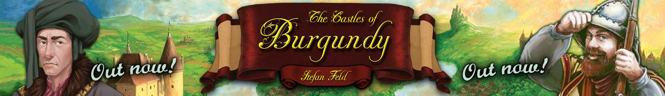 Castles of Burgundy by Stefan Feld