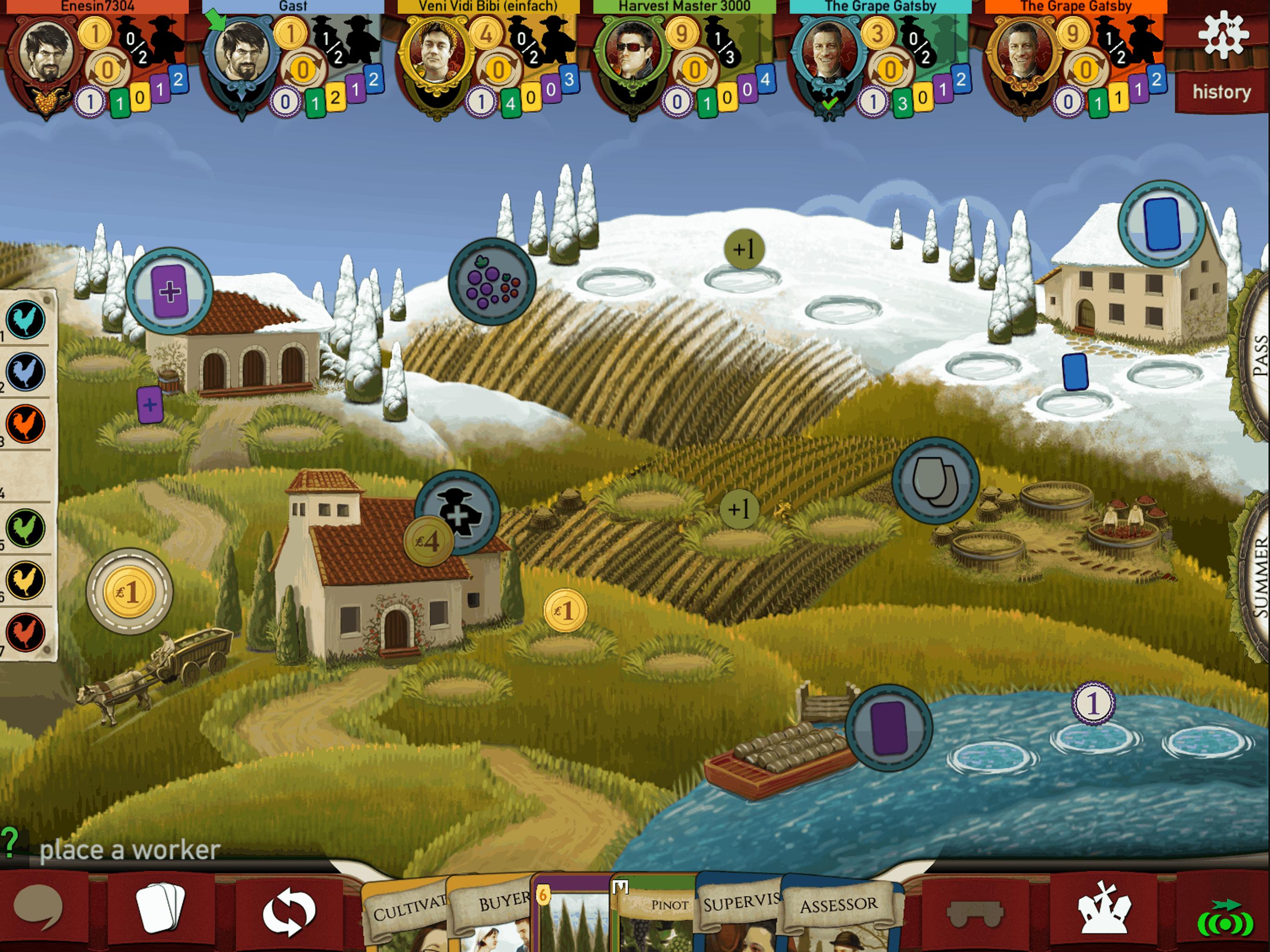 Viticulture the App / Screenshot Pad
